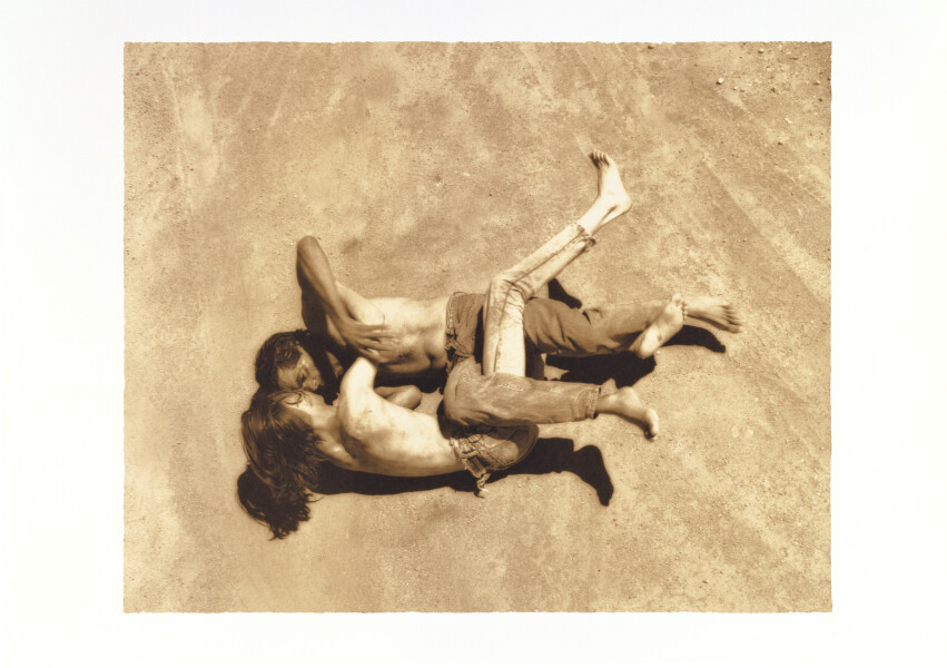 Tracey Moffatt Up In The Sky  # 19, 1997; off set print; 61 x 76 cm; 72 x 102  paper size; Edition of 60 + AP 8; enquire