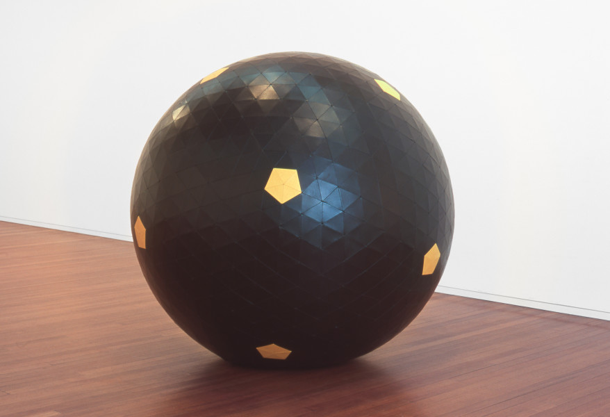 James Angus Metaball, 2000; leather; 180 cm diameter; enquire