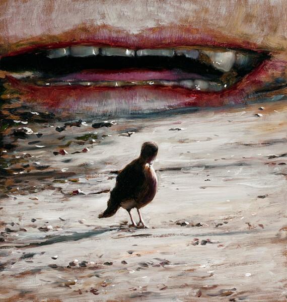 Louise Hearman Untitled #1304, 2009; oil on masonite; 64 x 61 cm; enquire