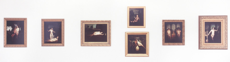 Gerard O'Connor Extremes, 1994; type C photographic prints; 7 parts, variable dimensions; enquire