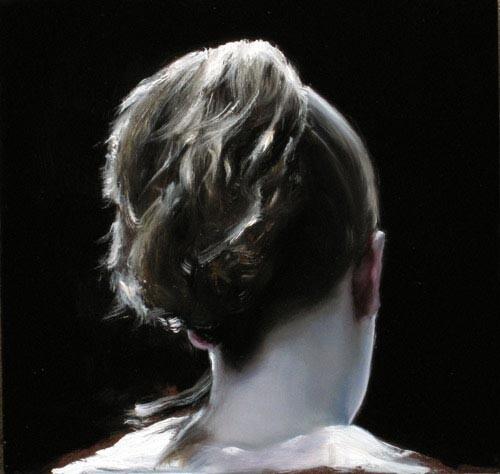 Louise Hearman Untitled #1150, 2004; oil on masonite; 35 x 36 cm; enquire