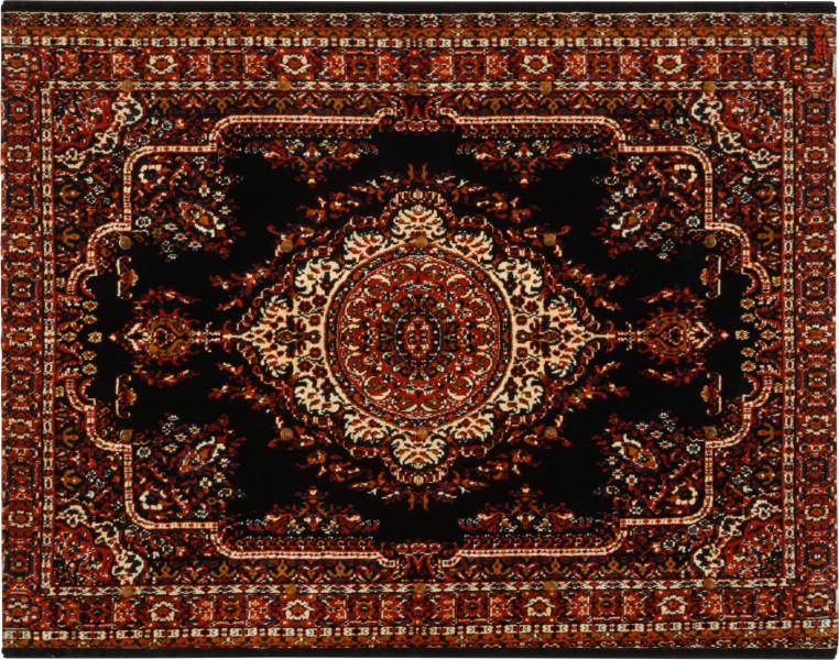 Dale Frank Love Me Love My Dog, 1989; pacifiers on Jute carpet; 200 x 240 cm; enquire