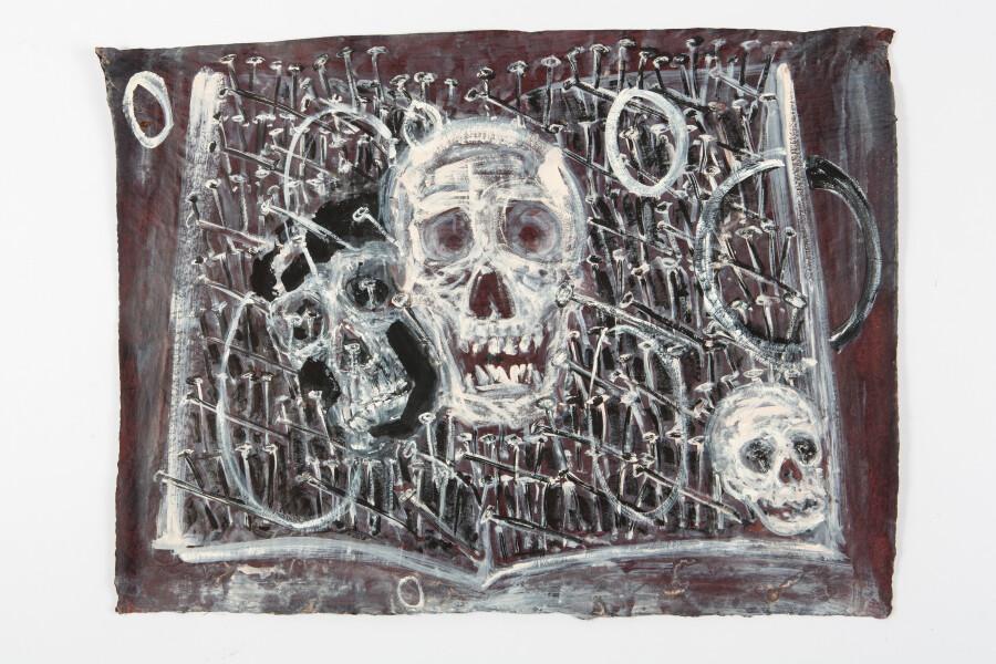 Fiona Hall By The Book, 2015; Cat no. 34; khadi paper; 57 x 76 cm; enquire
