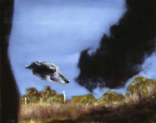 Louise Hearman Untitled #1099, 2005; oil on masonite; 48 x 61 cm; enquire