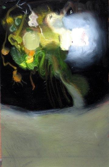 Louise Hearman Untitled #1136, 2005; oil on masonite; 36 x 23 cm; enquire