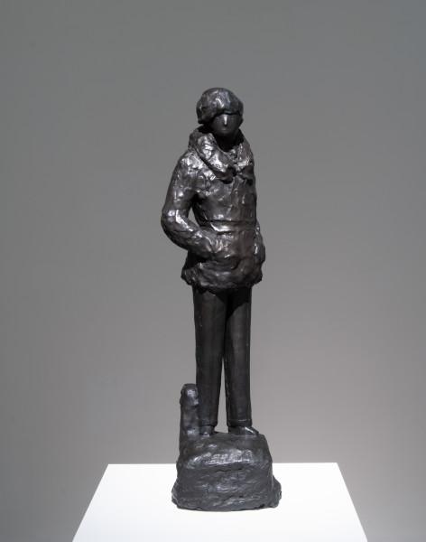 Linda Marrinon Field Marshal Montgomery, 2009; bronze; 73 x 21 x 21 cm; Edition of 3 + AP 2; enquire