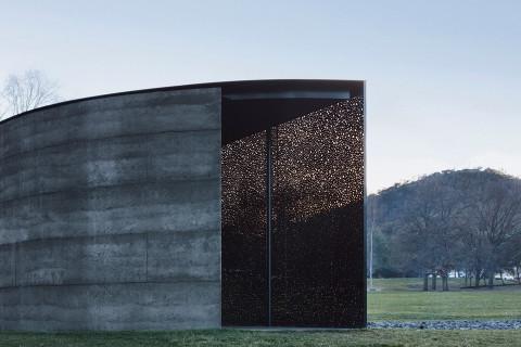 Daniel Boyd - winner of The Nicholas Murcutt Award for Small Project Architecture.