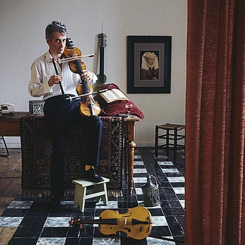 Anne Zahalka The Musician (Jon Rose/ composer/musician), 1987; Ilfochrome print; 80 x 80 cm; Edition of 10; enquire