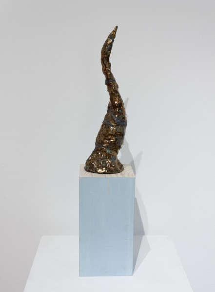 Mikala Dwyer The things in things, 2012; found objects, ceramic, glaze, epoxy filler; 35.5 x 10 x 5.5 cm; enquire