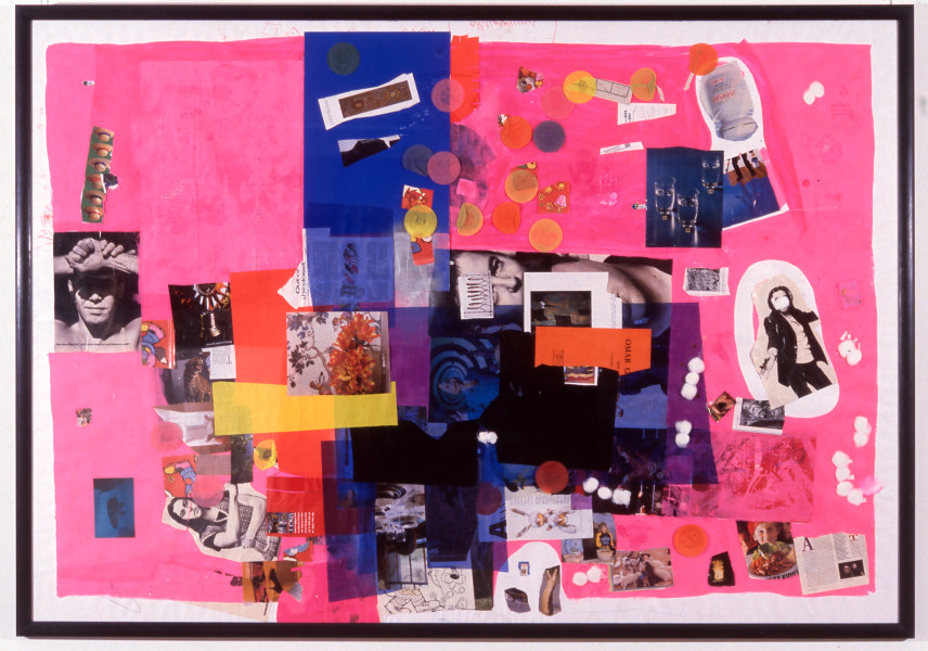 Dale Frank Cicciolina's Australian Fancy Boy, 1992; Mixed media on paper; 150 x 216 cm; enquire