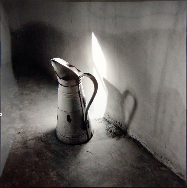 Bill Culbert Jug with Sunspot, France, 1980; silver gelatin prints; 40.5 x 40.5 cm; Edition of 25; enquire