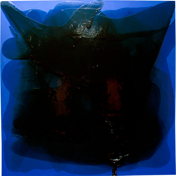 Dale Frank The Blue Dead Slut Painting — Jason, 1996; varnish on acrylic on linen; 200 x 200 cm; enquire