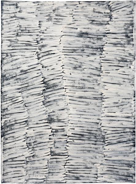 Nyapanyapa Yunupingu Untitled, 2016; 4929V; earth pigments on paper; 76 x 57 cm; enquire