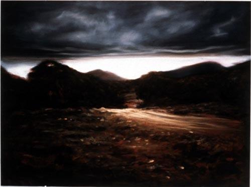 Louise Hearman Untitled #468, 1996; oil on masonite; 69 x 92 cm; enquire