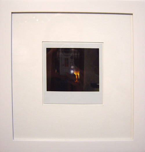 Tracey Emin ROTHKO POLAROIDS  (detail), 2004; 12 framed Polaroid photographs and ink on A4 paper; 10 x 10 cm (each Polaroid) and 26.5 x 25.5 cm (each Polaroid frame); enquire