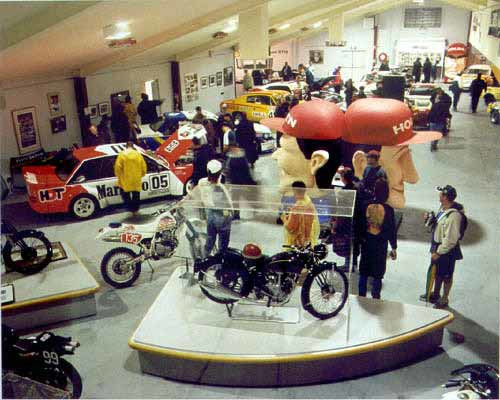 Anne Zahalka National Motor Racing Museum, 2000; from the series Leisureland; type C photograph; 115 x 145 cm; Edition of 12; enquire