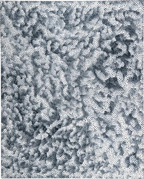 Yayoi Kusama INFINITY-NETS OWTWQB, 2008; acrylic on canvas; 162 x 130.3 cm; enquire
