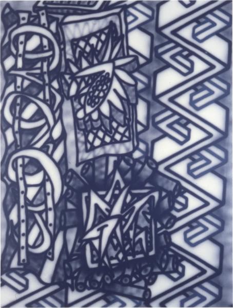 Howard Arkley Amphetamine, 1983; acrylic on canvas; 160 x 120 cm; enquire
