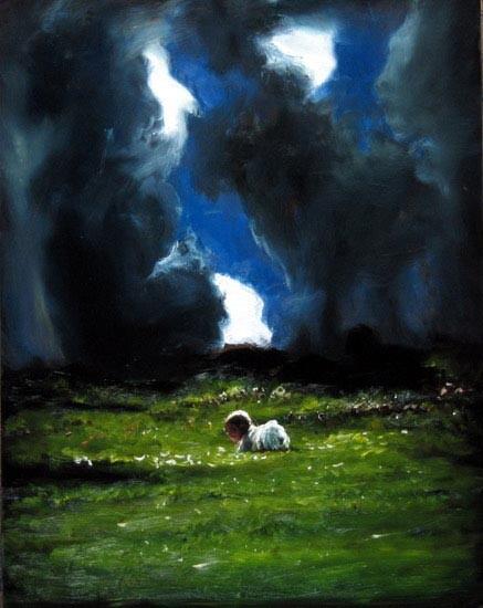 Louise Hearman Untitled #1121, 2005; oil on masonite; 61 x 48 cm; enquire