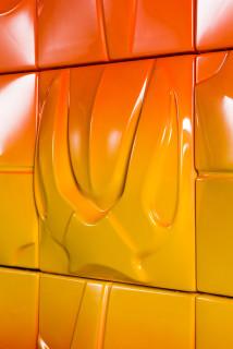 Patricia Piccinini Supernova (detail), 2019; ABS plastic and automotive paint; 150 x 250 cm; enquire