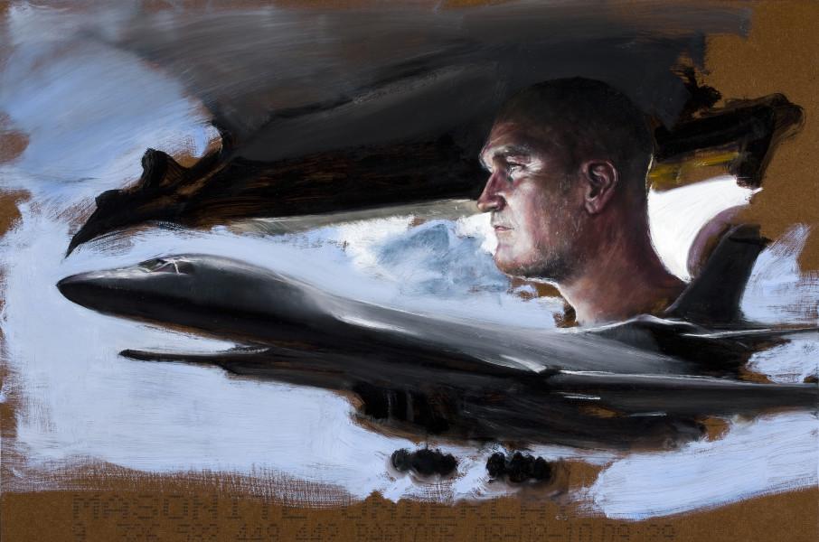 Louise Hearman Untitled #1333, 2011; Oil on masonite; 61 x 91.5 cm; enquire