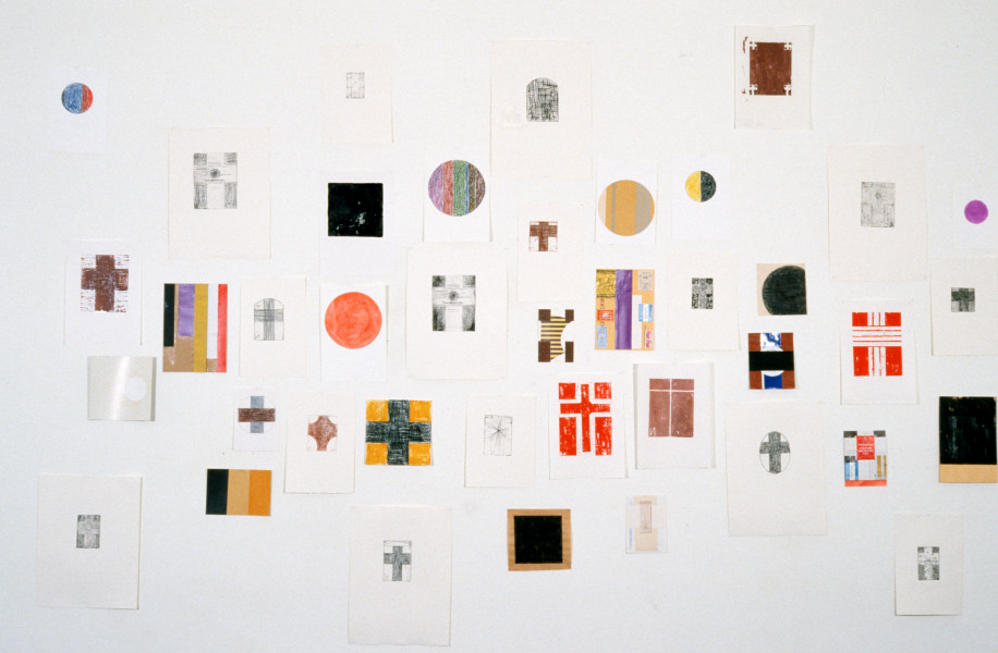 John Nixon Drawings, Etchings, Woodblocks, 1988; enquire