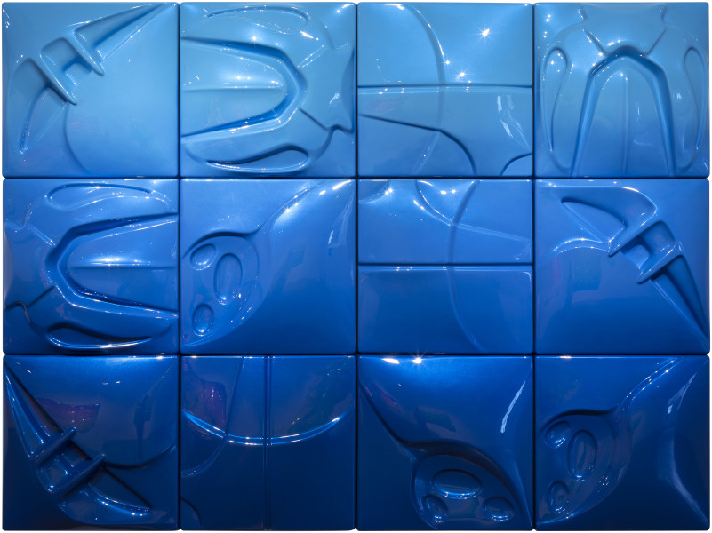 Patricia Piccinini The Smell of Rain, 2017; Automotive paint on ABS plastic; 150 x 200 cm; enquire