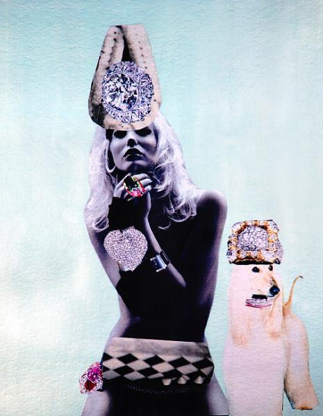 "Jacqueline Fraser ""BABETTE"", 2007; 100 x 100 cm (framed); enquire"