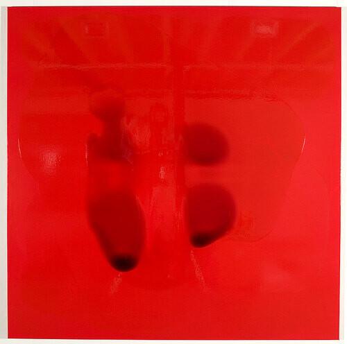 Dale Frank David Oyelowo, 2008; varnish on canvas; 200 x 200 cm; enquire