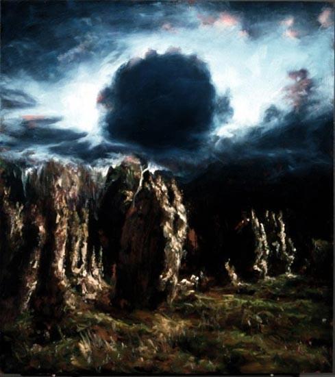 Louise Hearman Untitled #822, 2001; oil on masonite; 76 x 69 cm; enquire