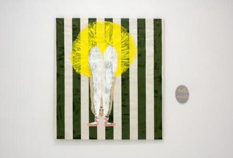 Jenny Watson, 'Fringe', Dhondt-Dhaenens, Belgium