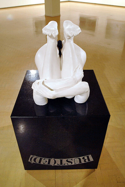 Julie Rrap Bust(ed), 2008; Edition of 3 + AP 1; enquire