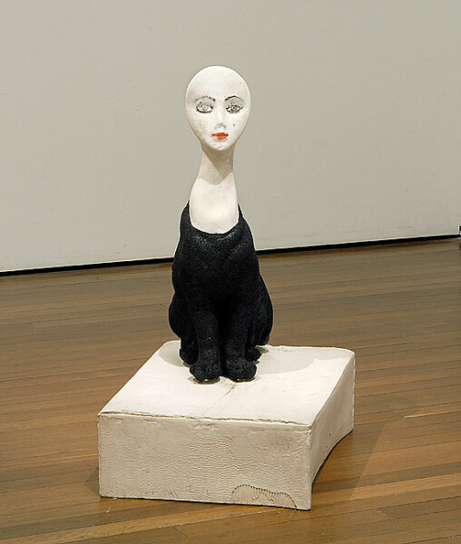 Hany Armanious Uncanny Valley, 2009; cast earthenware, cast asphalt, cast pigmented polyurethane resin; 96 x 73 x 49 cm; enquire