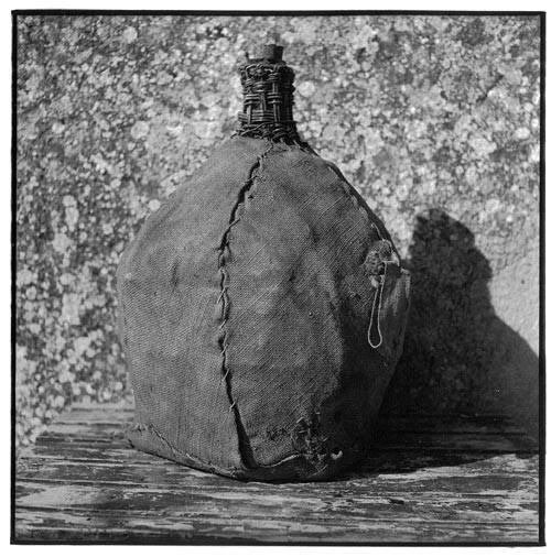 Bill Culbert Bonbonne - Stiched cloth handle, 2002; Edition of 25; enquire