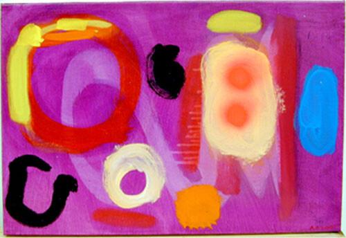 Angela Brennan Saturday 10th dream, 2001; Oil on linen; 41 x 61 cm; enquire