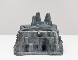 Fiona Hall Castles of Lost Destinies, 2015; Cat no. 22; Bronze; 16 x 18 x 22 cm; enquire
