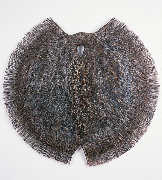 Bronwyn Oliver Lock, 2002; copper; 125 x 125 x 14cm diameter; enquire
