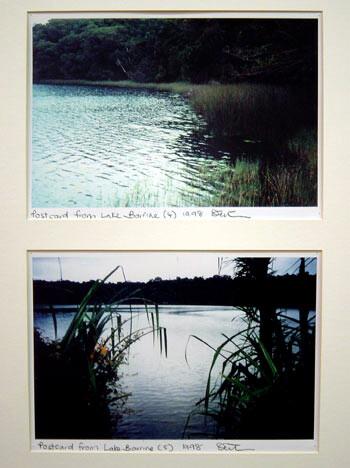 Destiny Deacon Postcard from Lake Barrine (4) (5), 1998; 2 colour laser prints; 21 x 29.8 cm; Edition of 15; enquire