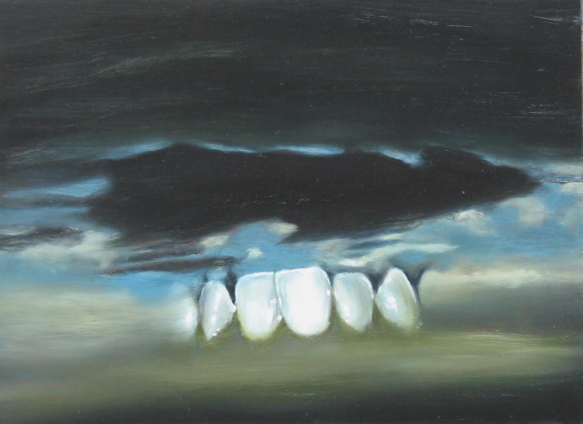 Louise Hearman Untitled #1092, 2005; oil on masonite; 39 x 53 cm; enquire
