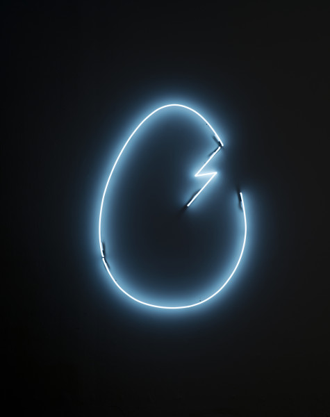 Nell The Dr. said it was like being hit by lightning, 2013; neon; 156 x 112 cm; Edition of 5 + AP 2; enquire