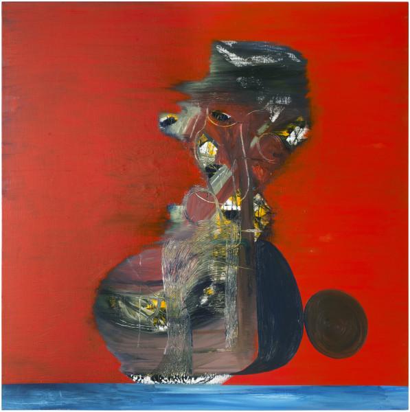 Gareth Sansom Bosun, 2014; oil and enamel on linen; 122 x 122 cm; enquire