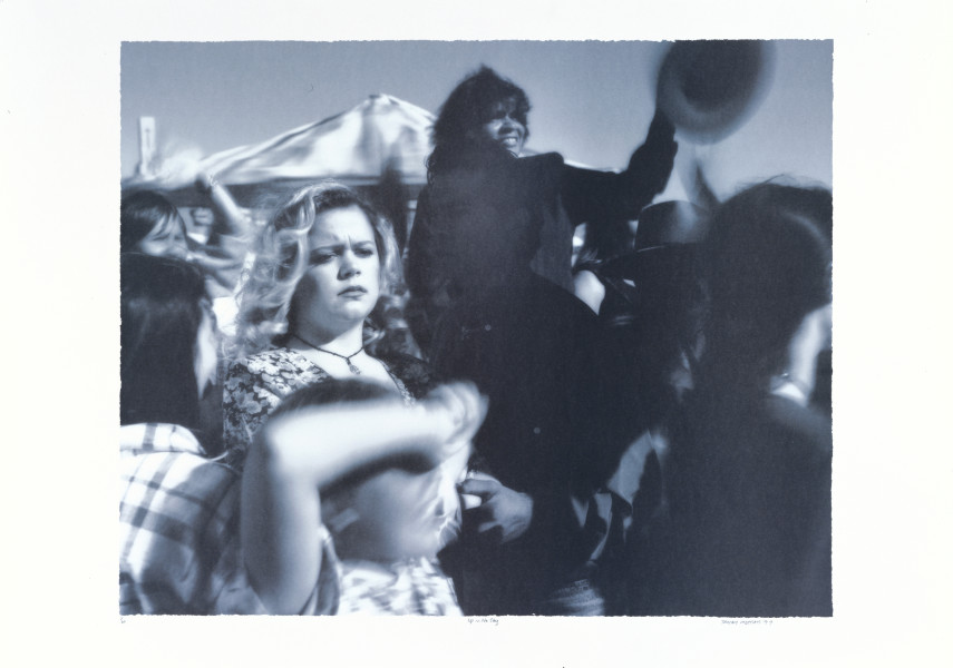 Tracey Moffatt Up In The Sky  # 13, 1997; off set print; 61 x 76 cm; 72 x 102  paper size; Edition of 60 + AP 8; enquire