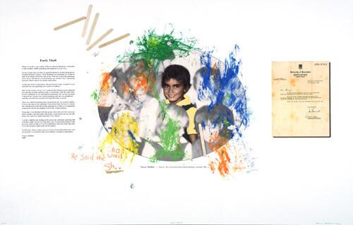 Tracey Moffatt Bad Word Sh..., 2004; Colour inkjet print on archival paper; 75 x 118 cm; enquire