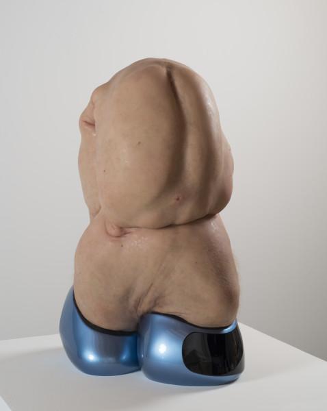 Patricia Piccinini Atlas, 2012; silicone, fibreglass, human hair, auto paint  ; 86 x 55 x 45 cm; Edition of 3 + AP 1; enquire