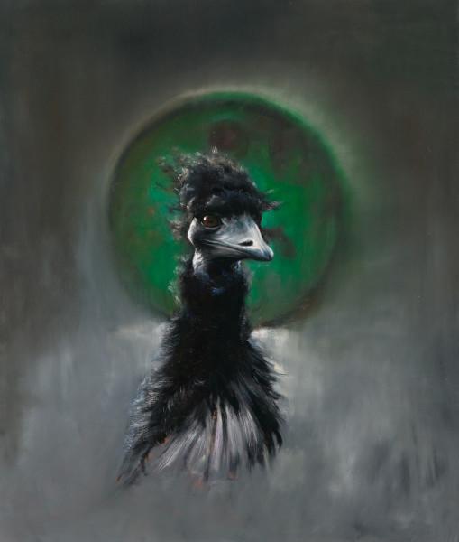 Louise Hearman Untitled #1224, 2007; oil on masonite; 72 x 61 cm; enquire
