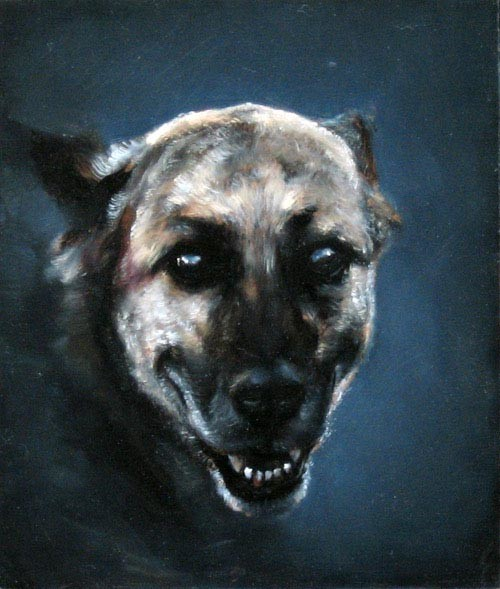Louise Hearman Untitled #1151, 2004; oil on masonite; 36 x 30 cm; enquire