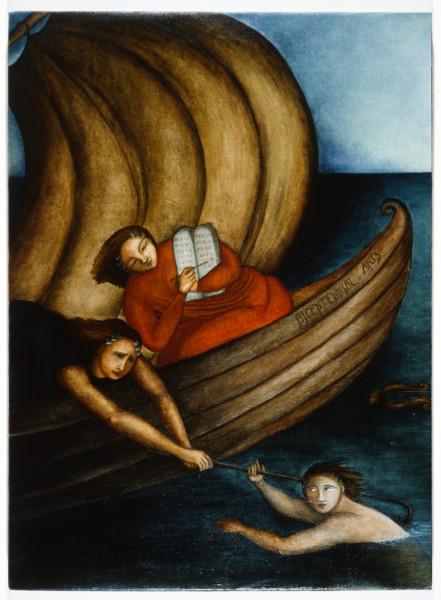 Vivienne Shark LeWitt Bicentennial Arts, 1988; oil on linen; enquire