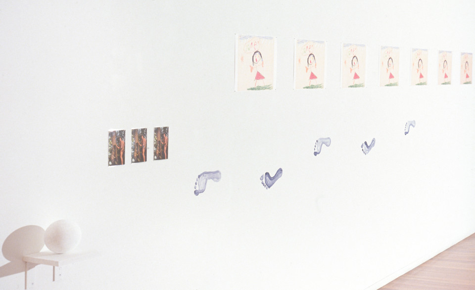 Fiona Foley Who's Jane Where's Tarzan, 1993; laser copy, found postcards, paint, plaster; installation, various dimensions; enquire
