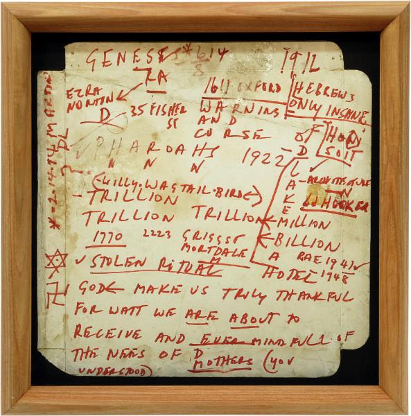 Hany Armanious Pizza Box, 1989; Inkjet print on paper; 50 x 50.5 cm; edition of a trillion trillion; Edition of 10; enquire