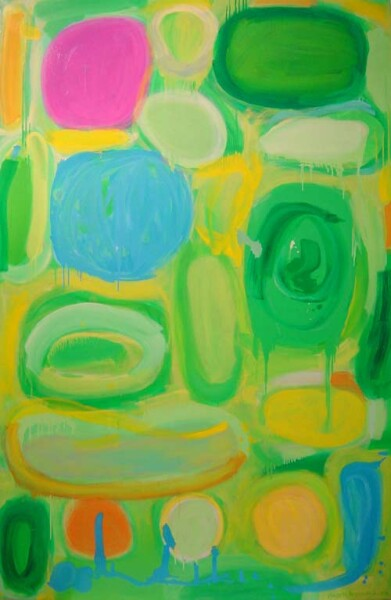 Angela Brennan From a Spiral Jetty II, 2002; Oil on linen; 200 x 130 cm; enquire